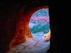 Best Friends' Sandy Cliff Caves