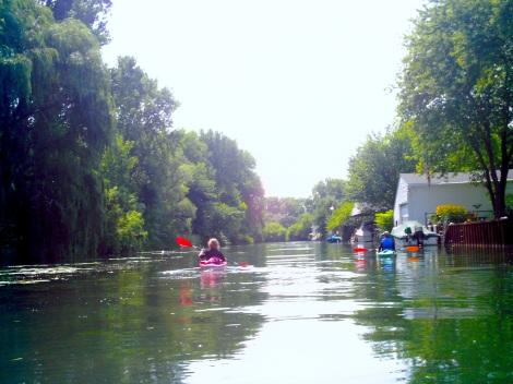More kayaking.