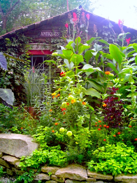 The gardens were beautiful.