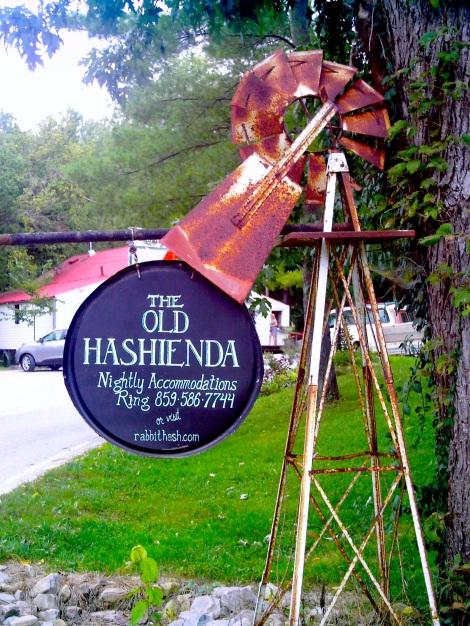 The Old Hashienda.