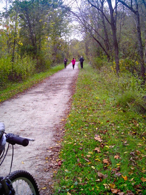 Biking the Towpath Trail